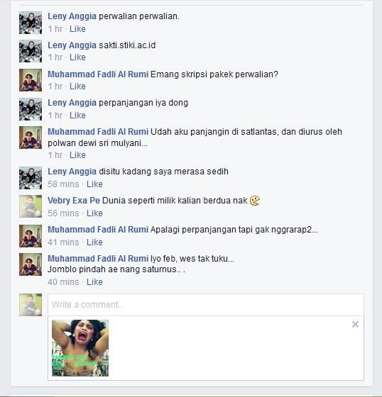 Cara Berkomentar Menggunakan Gambar Lucu Di Facebook