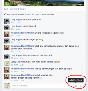 Cara Komentar Menggunakan Gambar Lucu Di Facebook