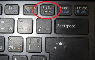 Tombol Prt Sc Di Keyboard