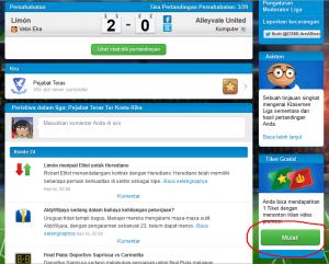 Cara Mendapatkan Tiket Harian Gratis Di Online Soccer Manager (OSM)