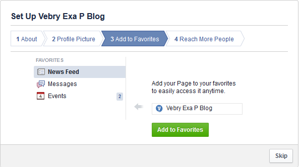 Cara Membuat Fan Pages Di Facebook