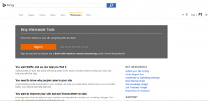 Cara Mendaftarkan Blog Di Bing Search Engine