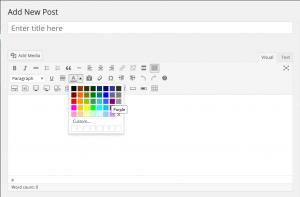 Cara Mengganti Warna Tulisan di Postingan WordPress