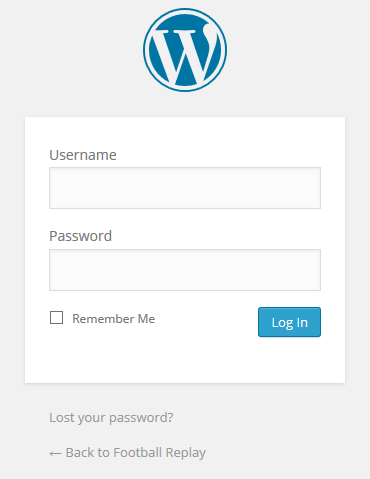 Cara Log In Di WordPress