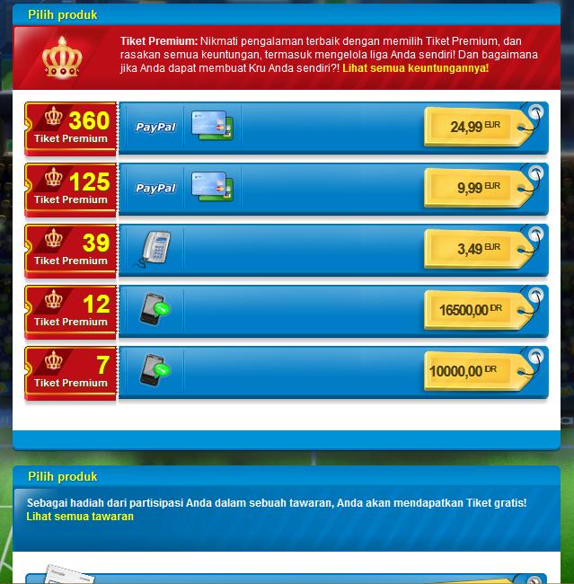 Cara Membeli Tiket Premium Di OSM