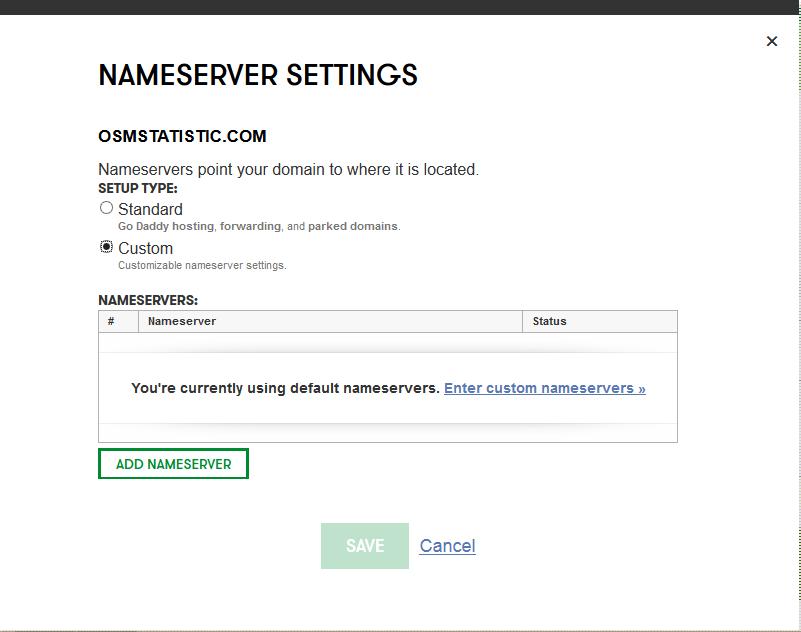 Cara Mengganti DNS Di GoDaddy