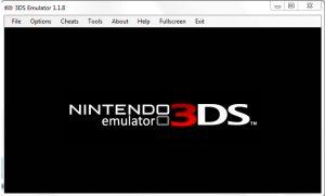 Tampilan Nintendo 3DS Emulator
