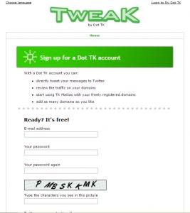 Cara Membuat Website Dengan Domain Gratisan Di Dot TK