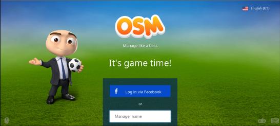Cara Log In Ke Tampilan Baru OSM (Online Soccer Manager) Via Android
