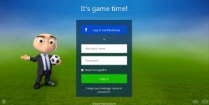 Cara Log In Ke Tampilan Baru OSM (Online Soccer Manager) Via Facebook