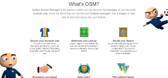 Cara Log In Ke Tampilan Baru OSM (Online Soccer Manager) Via Komputer