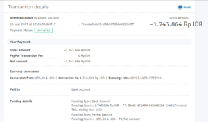 Bukti Withdraw PayPal Limited 11