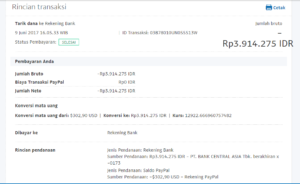 Bukti Withdraw PayPal Limited 9