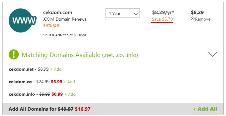 Jasa Pembelian Domain Di Godaddy