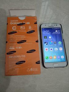 Dijual Samsung Galaxy J5 Second Full Set Free Ongkir