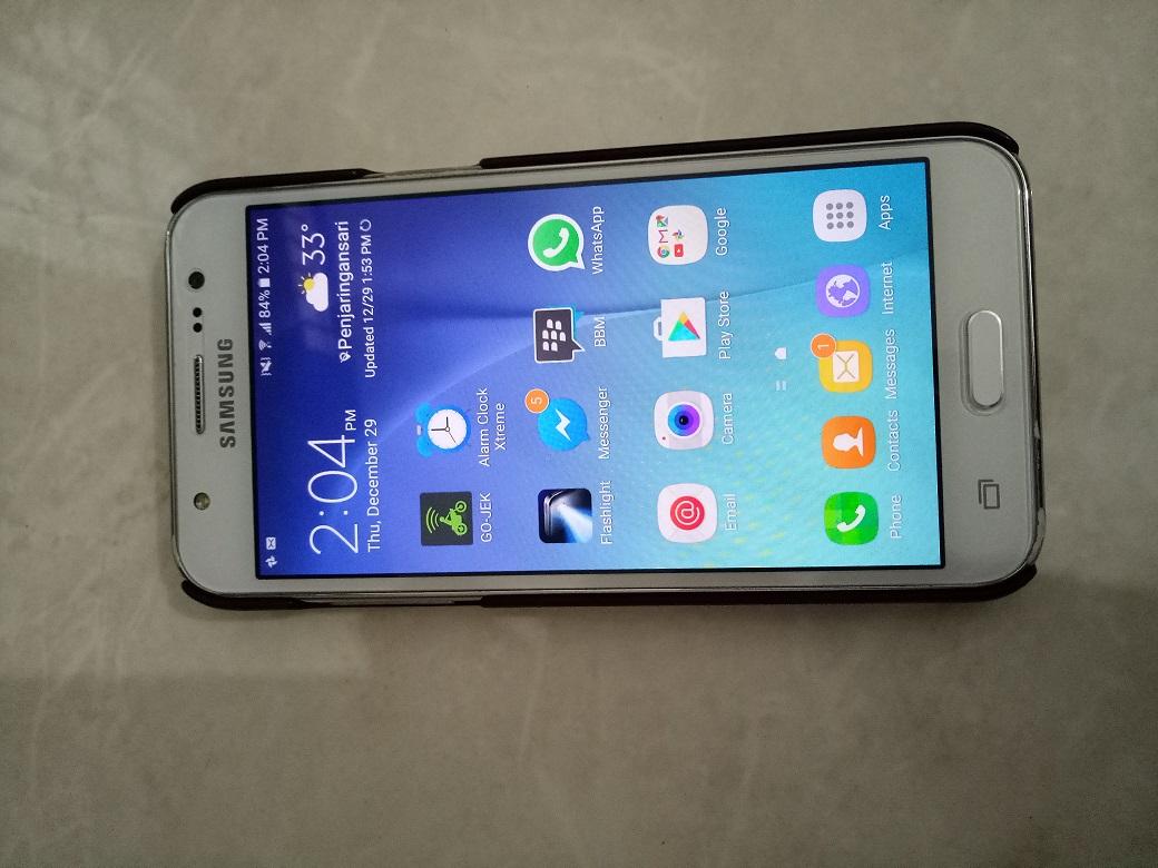 Dijual Samsung J5 Second Full Set