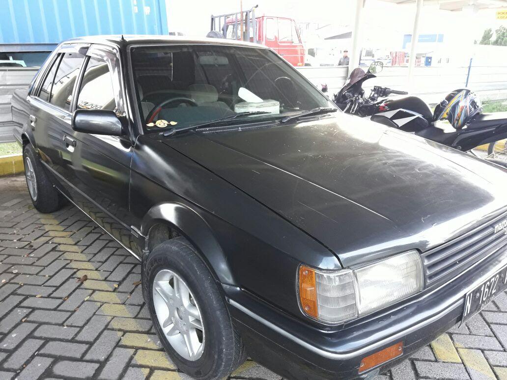 Dijual Mazda 323 Tahun 86 CC 1500 Surat Lengkap