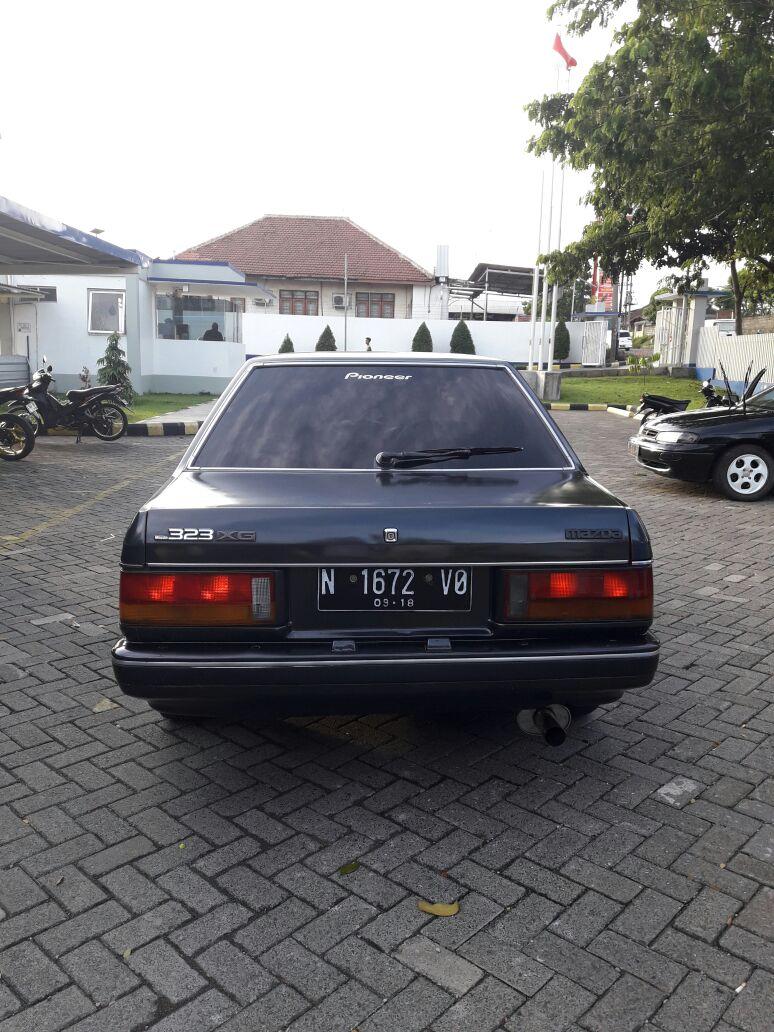 Jual Mazda 323 Tahun 86 CC 1500 Surat Lengkap
