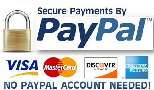 Jasa Pembayaran, Top Up dan Pembelian Barang Online Menggunakan PayPal atau Kartu Kredit