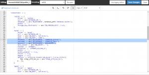 Config Database Laravel