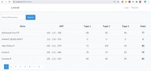 Fitur Pencarian Data di Database Menggunakan Laravel