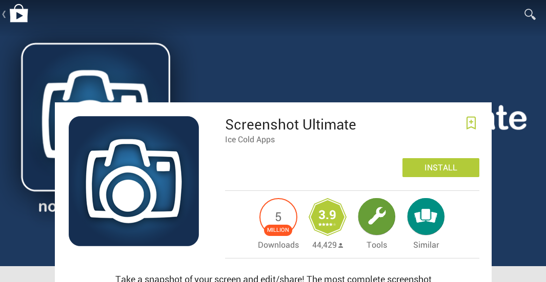 Download Dan Install Aplikasi Screenshot Ultimate